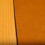 enduit terre et paillettes de lin