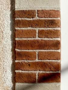 Imitation d'un appareillage en briques