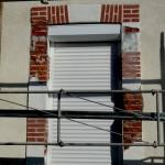 Etat initial avant restauration en fausses briques