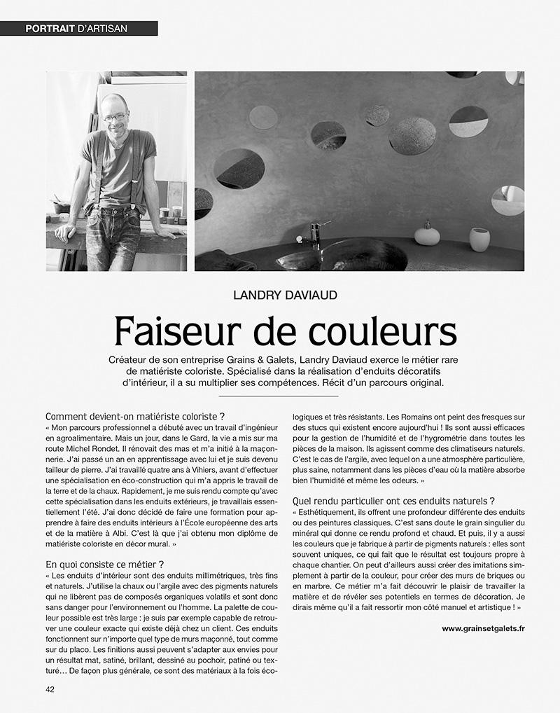 Article Ouest France Grainsetgalets.fr