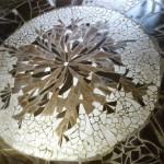 Mosaïque réalisée à Terragorra par grainsetgalets.fr